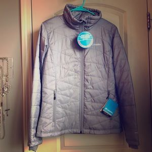 NWT Columbia Mighty Lite III Jacket in Gray